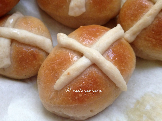Hot cross Buns con Lievito Madre