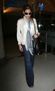Eva Mendes Flared Jeans Celebrity Style Women's Fashion