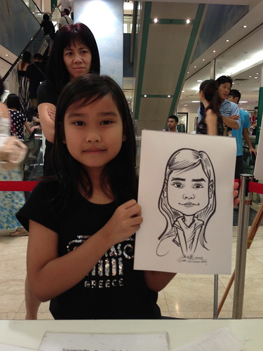 caricature live sketching for Takashimaya Good Friday Special - 25
