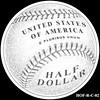 Baseball coin design