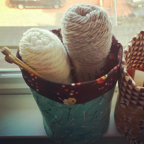 Fabric buckets #sewing