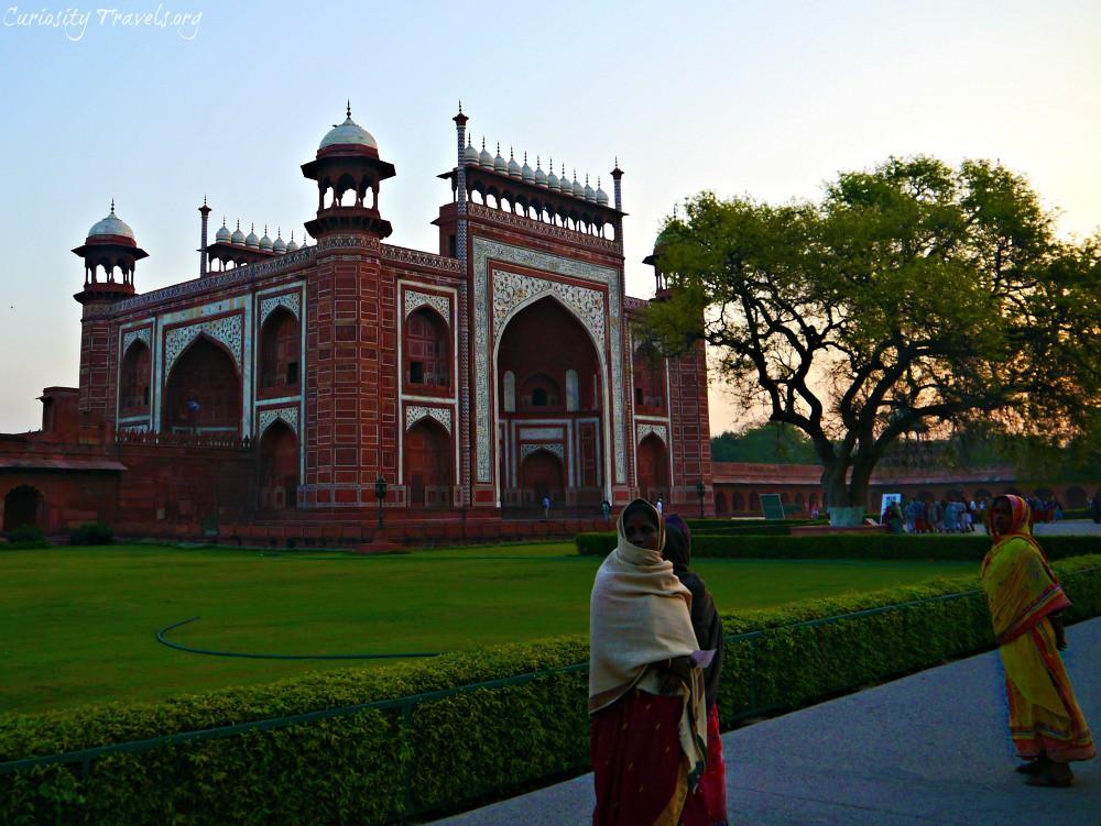 Postcards from the Taj Mahal