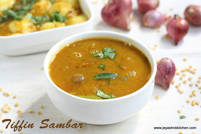 Tiffin Sambar 3