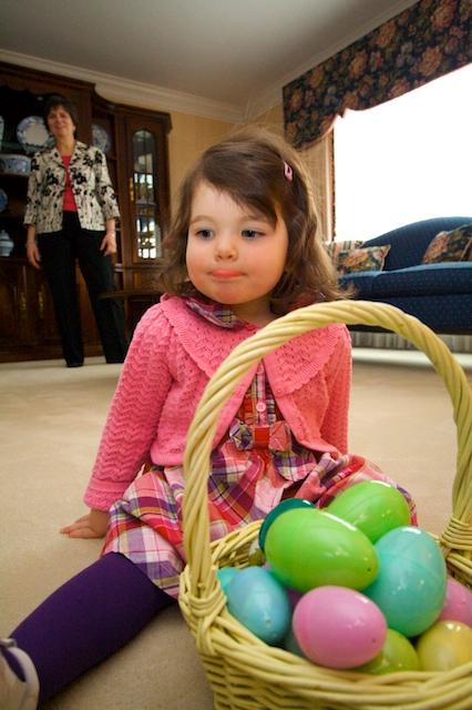 Lydia w/ Easter Basket