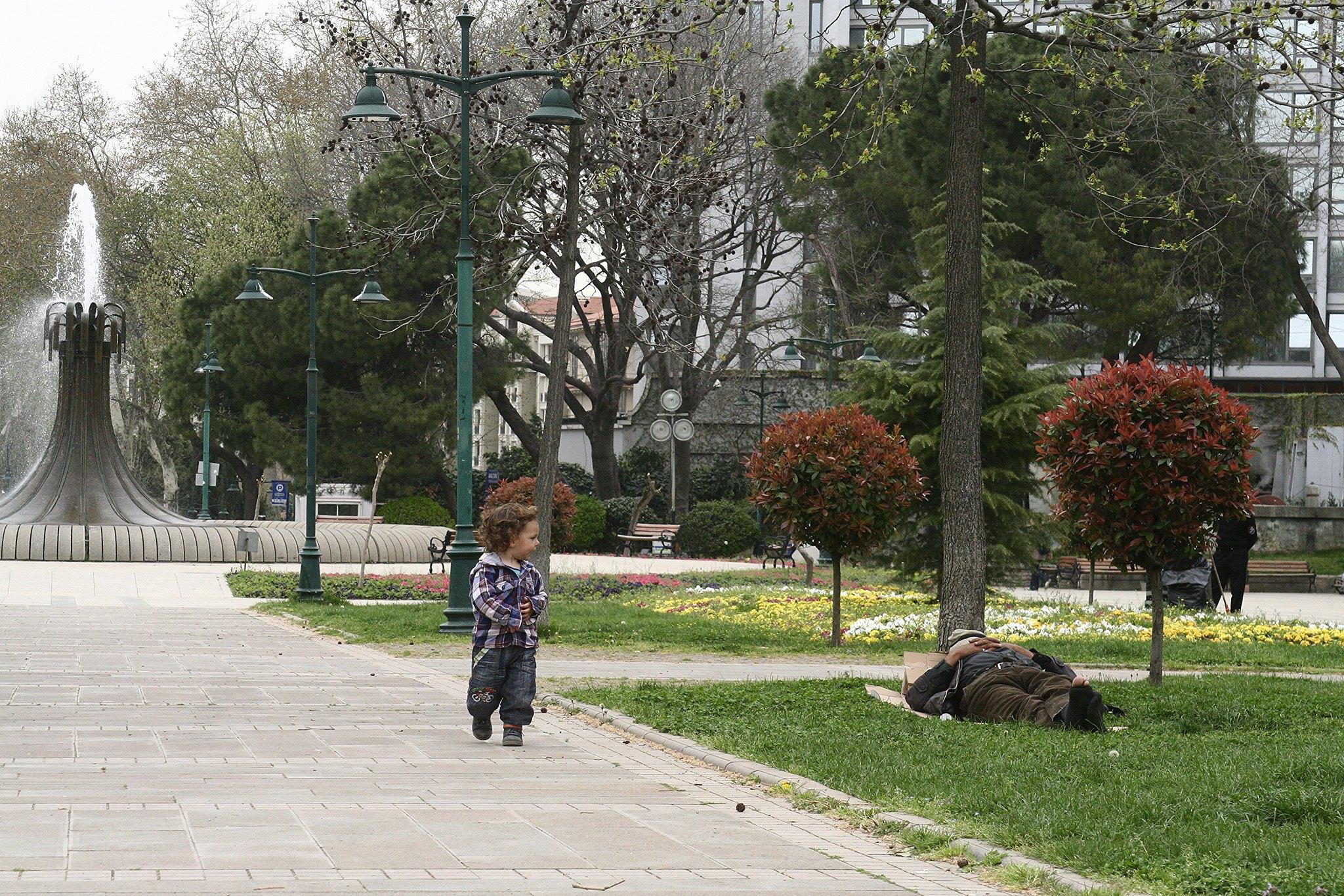 K in Gezi Park