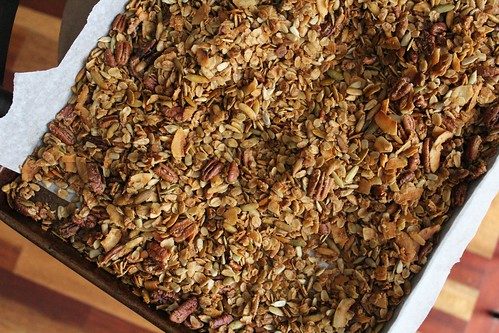 Maple Olive Oil Granola | coppertopkitchen.blogspot.com