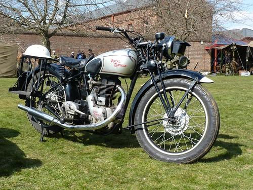 Royal Enfield Motorcycle - 6 April 2013
