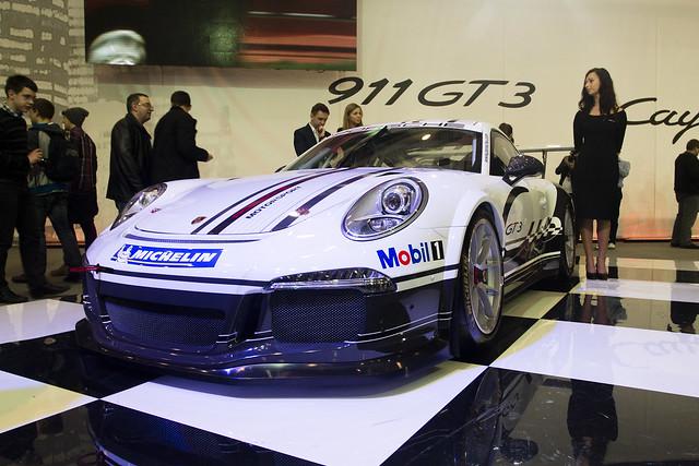 Porsche 911 GT3 - Motor Show Poznań