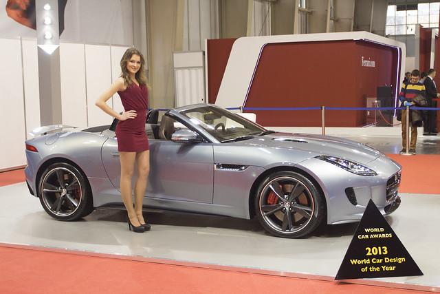 Jaguar - Motor Show Poznań