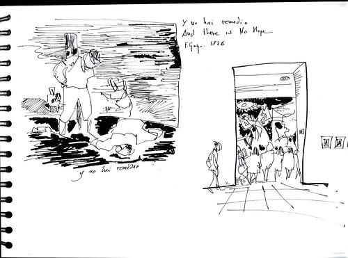 desastres de la guerra, Goya & Picasso, Madrid