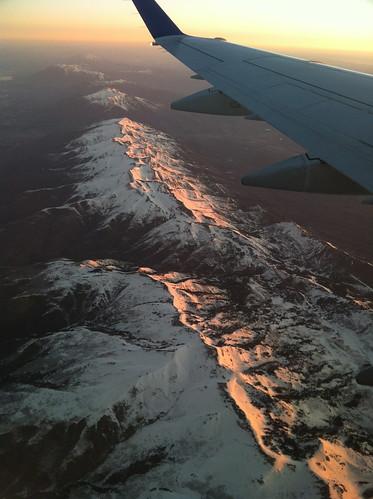 Sun-dappled Wasatch Mountains