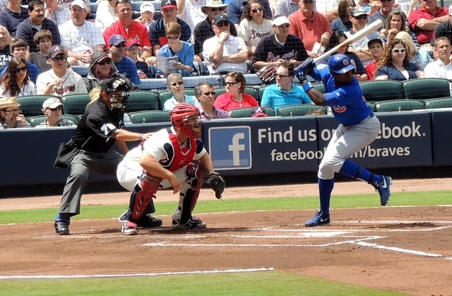 Cubs vs. Braves 4-7-2013 from Flickr via Wylio