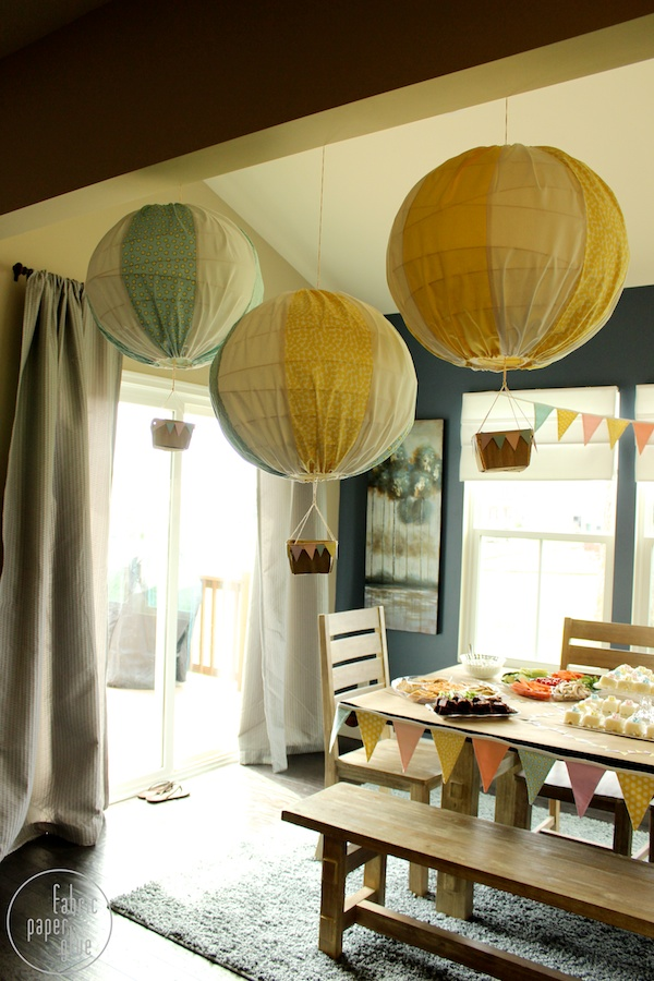 DIY Hot Air Balloons 9