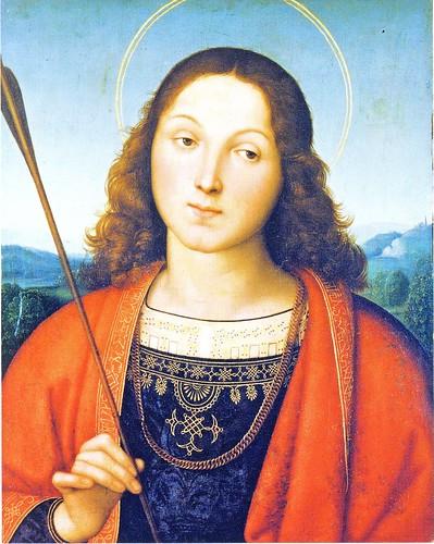 ラファエロ・サンツィオ「聖セバスティアヌス」ラファエロ展 by Poran111