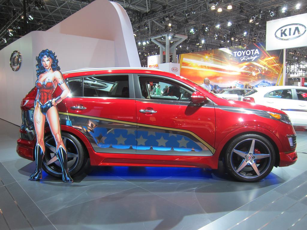 Wonder Woman Themed Kia Sportage