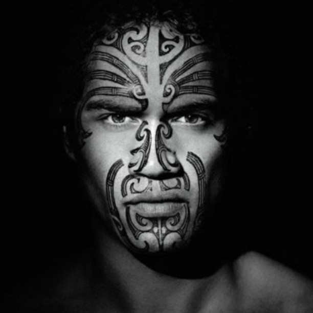 New Zealand Maori Face Tattoos: Maori, Maori Tattoos And New