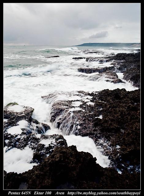恆春東海岸-黑白海岸2