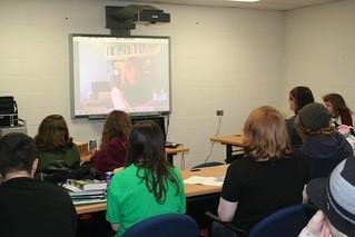Mary Pearson Skype w/ HS Book Club