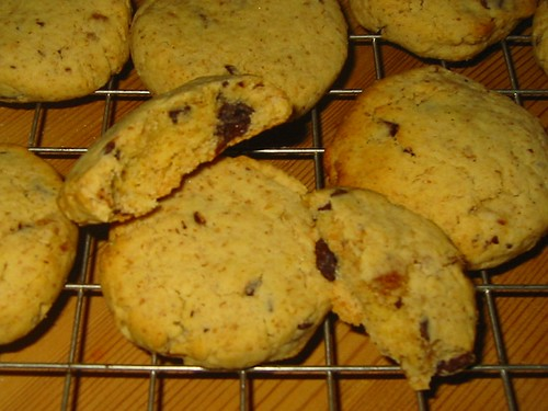 choc orange cookies
