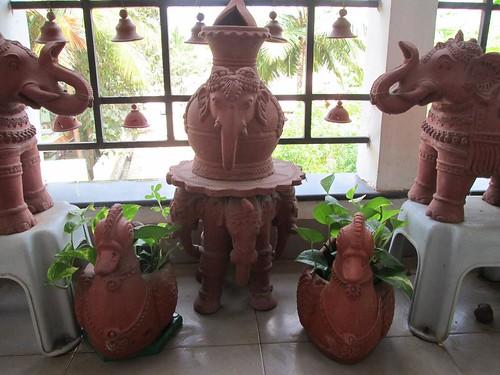 Cherish Dream Live Garden Tour Vijayalakshmi Krishnan 39 S Terracotta Infused Balcony Garden In