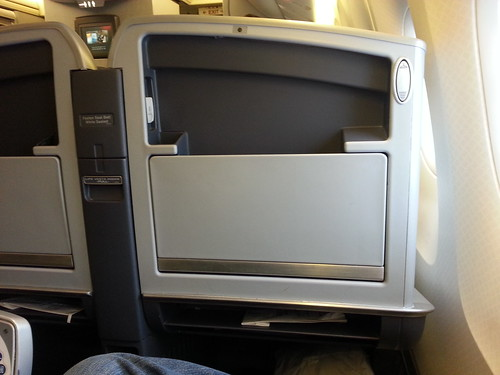 No Seatback TV on American 767-300