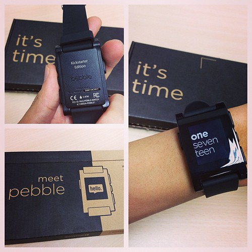 My #pebble is too big for my skinny wrist. ;(