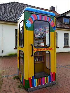 Schneverdinger Bücherzelle