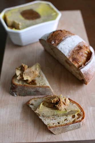 Foie gras aux figues イチジク入りフォアグラ