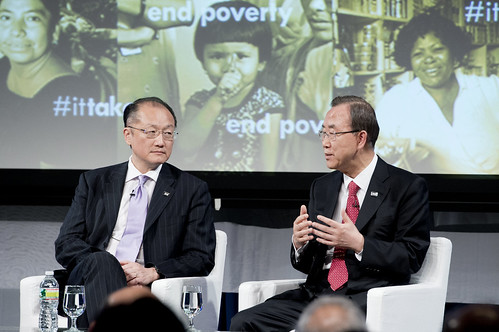 A Conversation with Jim Yong Kim and UN Secretary General Ban Ki-Moon.