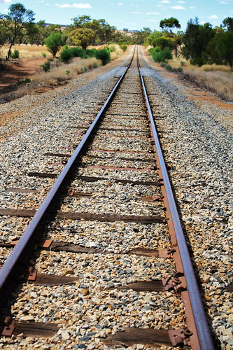 Camino hacia el outback australiano