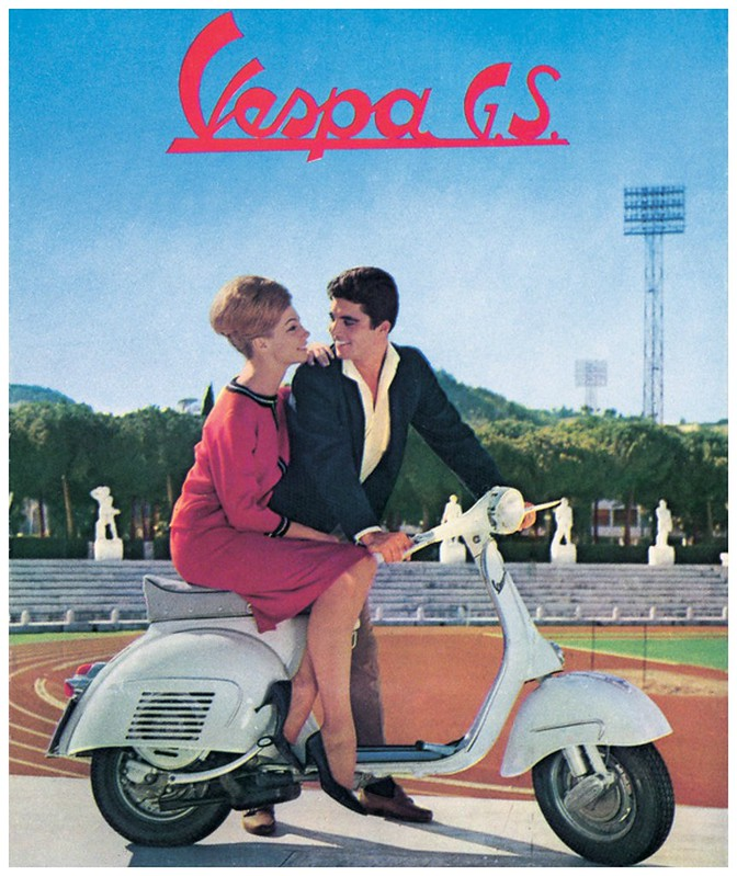 Vespa collage 4