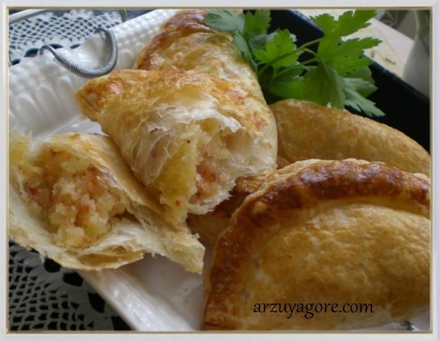 patatesli milföy börek