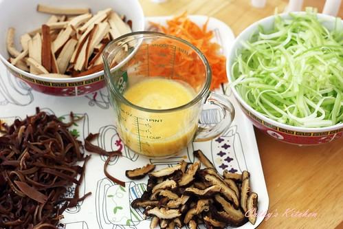 涼拌芹菜干絲 Celery with bean curd 8