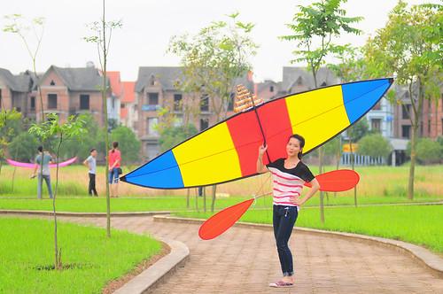 Người mẫu diều: Trần Thu Trang