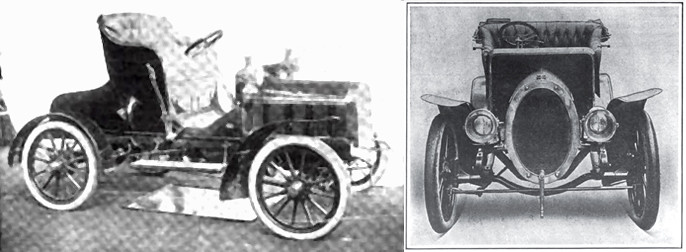 1905 Ariel Runabout and Touring