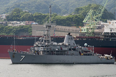 USS Patriot (MCM 7) returns to Fleet Activities Sasebo, Aug. 1. (U.S. Navy/MC3 Kristopher S. Haley/)