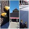 Pakai sepatu the warna jalan-jalan ke masjid Agung Demak, asyik banget, nyaman di kaki, nggak bikin capek, ringan melangkah dan bikin pede karena warnanya cantik, bahannya bagus dan aksen batiknya eksotis.  It's yellow Tan.  #endorse #endorsment #shoes #t
