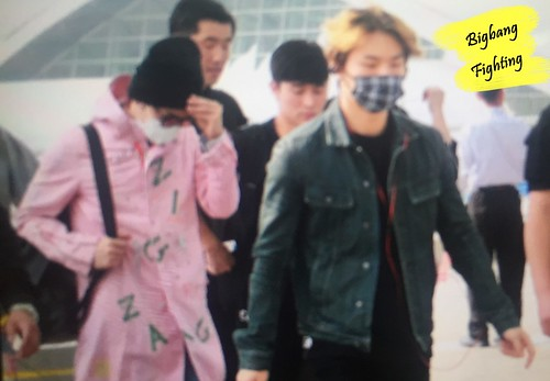 Big Bang - Incheon Airport - 24sep2015 - BigbangFighting - 11
