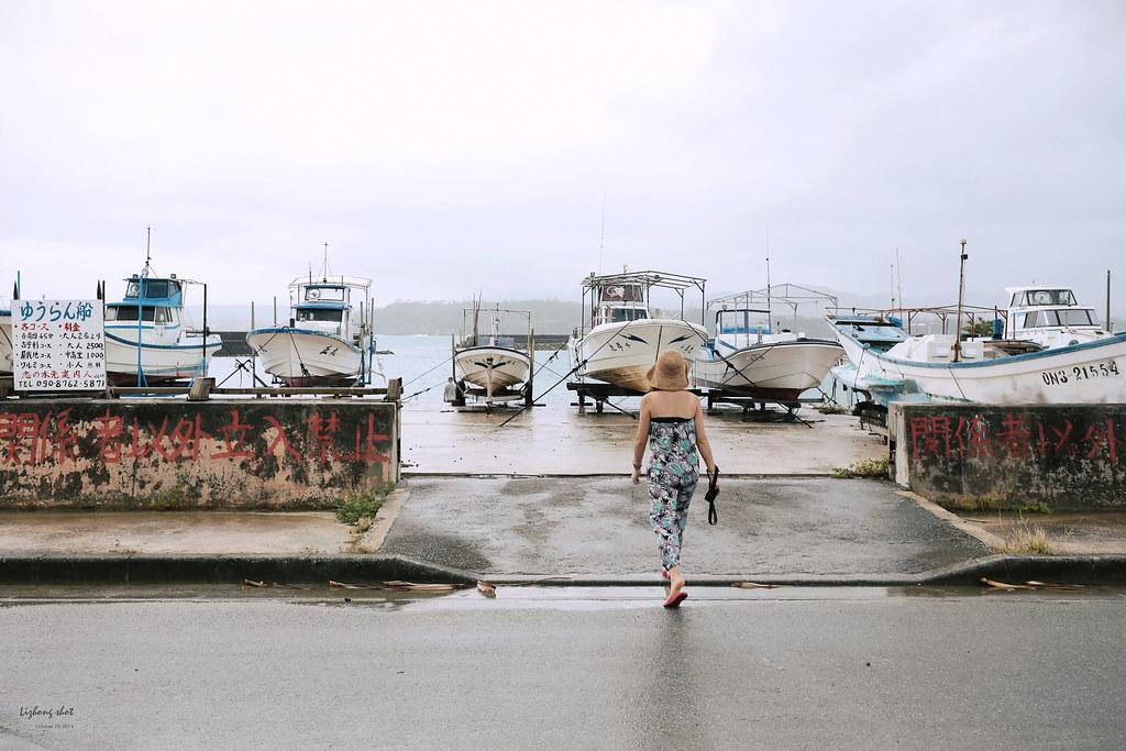 不小心散步到沖繩