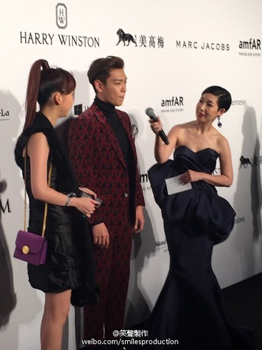 TOP - amfAR Charity Event - Red Carpet - 14mar2015 - smilesproduction - 04