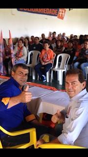 Paulinho da Força apoia candidatos do Solidariedade em Ourinhos-SP