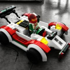 Lets race builder car #Lego #legoman #legocars  #blackendwhitecolour #cameraphoneshot