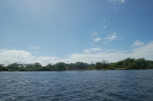 Das Ufer der Lagune