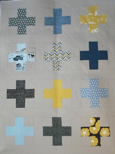 Madrona Road baby quilt for Wells #2