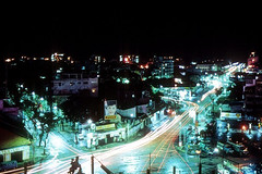 Saigon 1967 - A 20-second nighttime exposure taken out my hotel window.