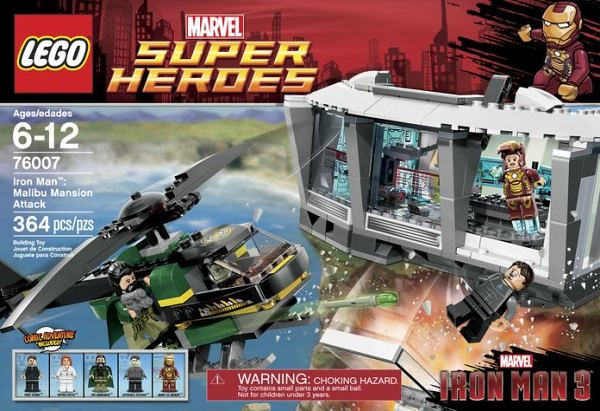 LEGO Super Heroes Marvel 76007 - Iron Man: Malibu Mansion Attack