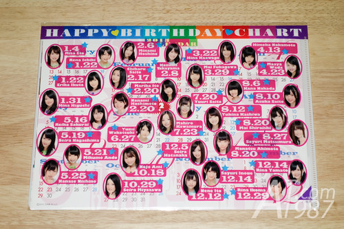 Nogizaka46 Official Calendar 2013