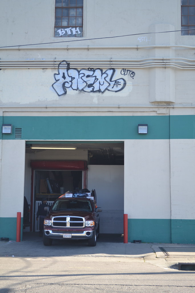 ANEMAL, AOD, AF, PI, BTH, Graffiti, Oakland, Street Art,