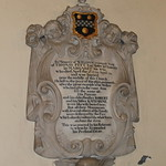 William Pitt Memorial, Blandford Church
