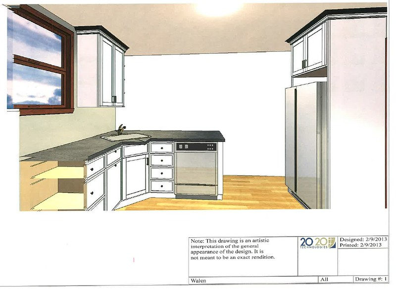 Small U Shaped Kitchen Layout Take 2